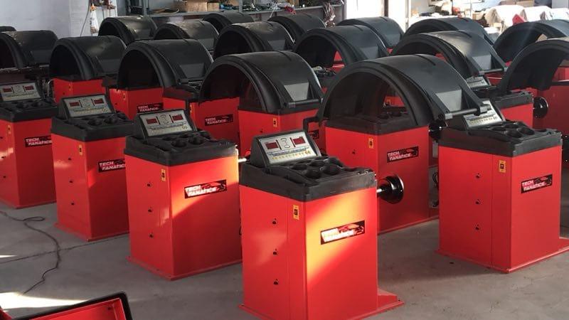 Techfanatics Wheel Balancer Manufacturing Plant