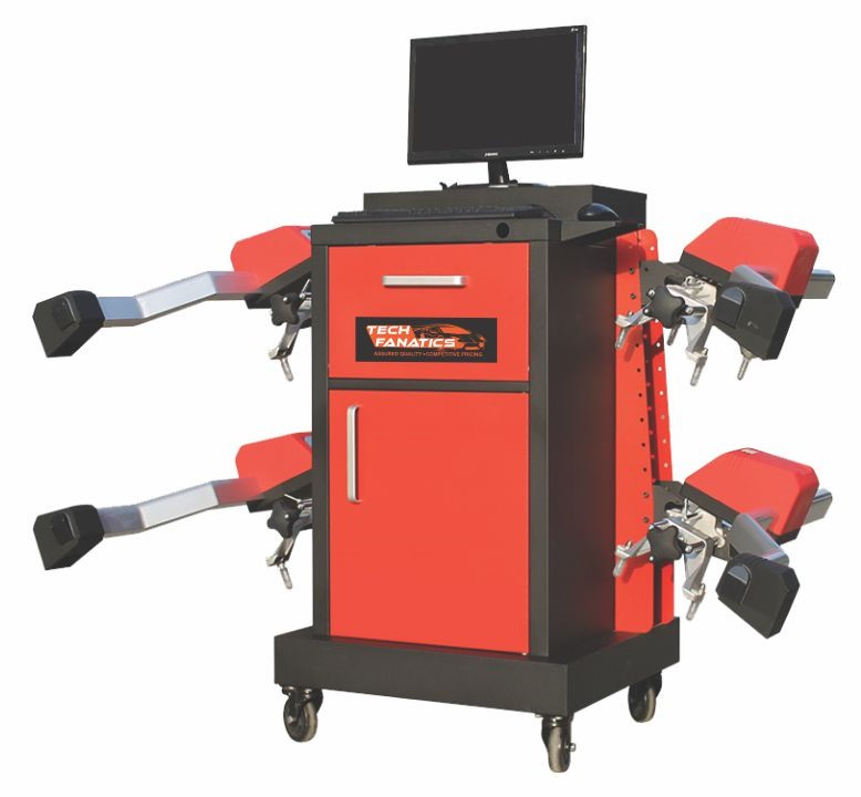 Commercial Vehicle Equipments TRUCK WHEEL ALIGNMENT (TF-2000 CV)