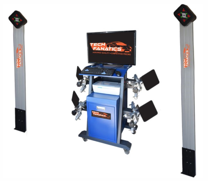Tyre Care Equipments 3D Wheel Alignment TFV-6000