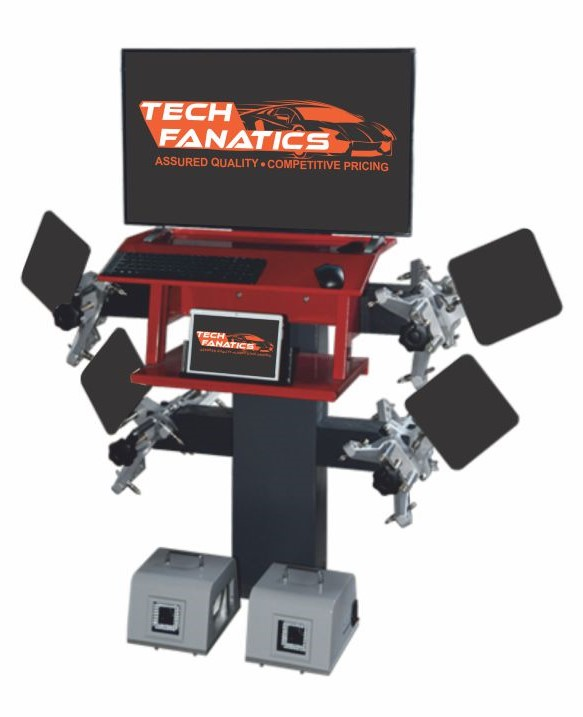 Tyre Care Equipments Portable 3D Wheel Alignment (TFP-8000)