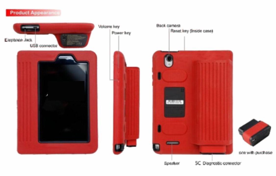Diagnostics Equipments CAR SCANNER (LAUNCH X-431 PRO)